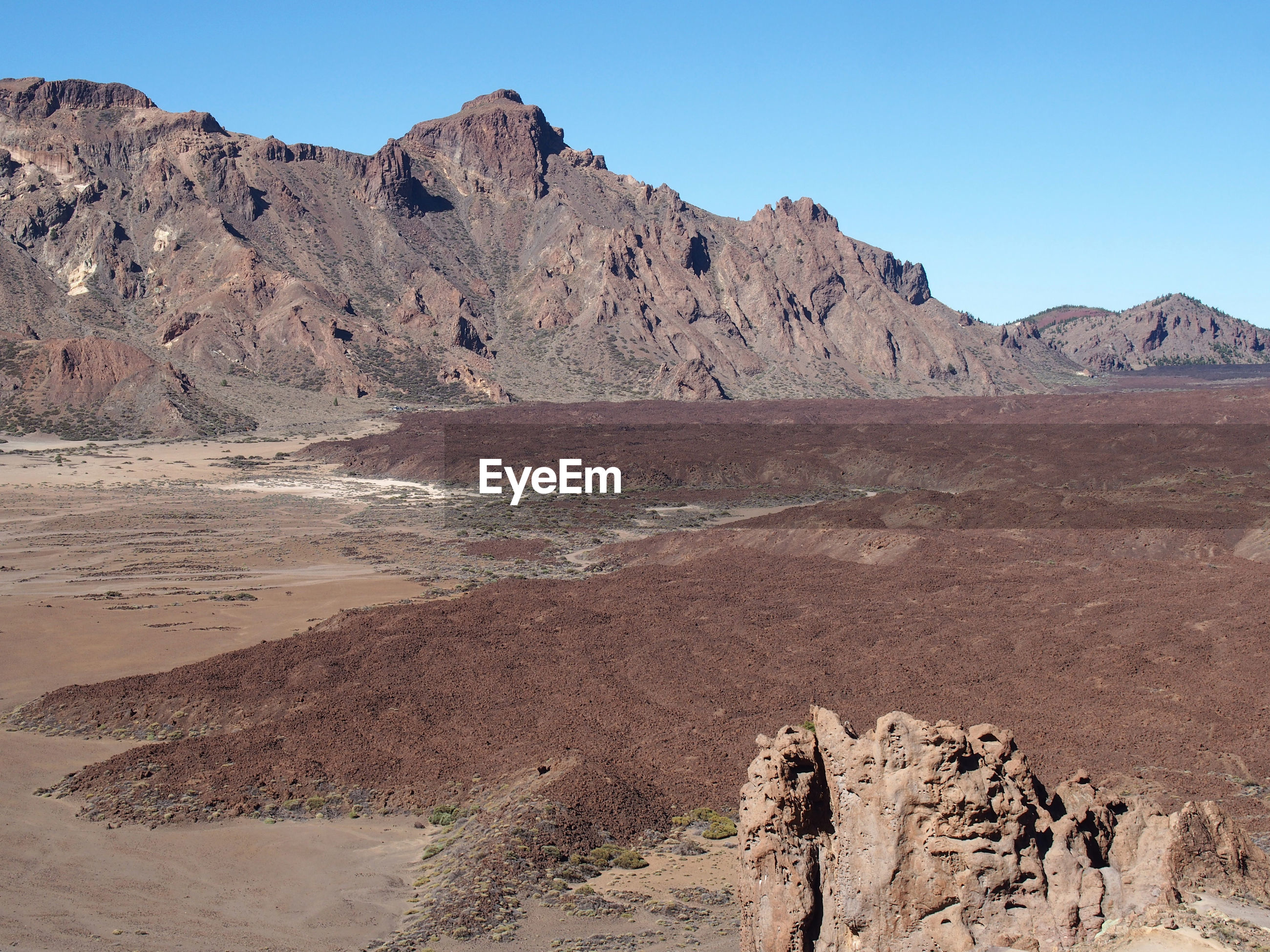PANORAMIC VIEW OF DESERT