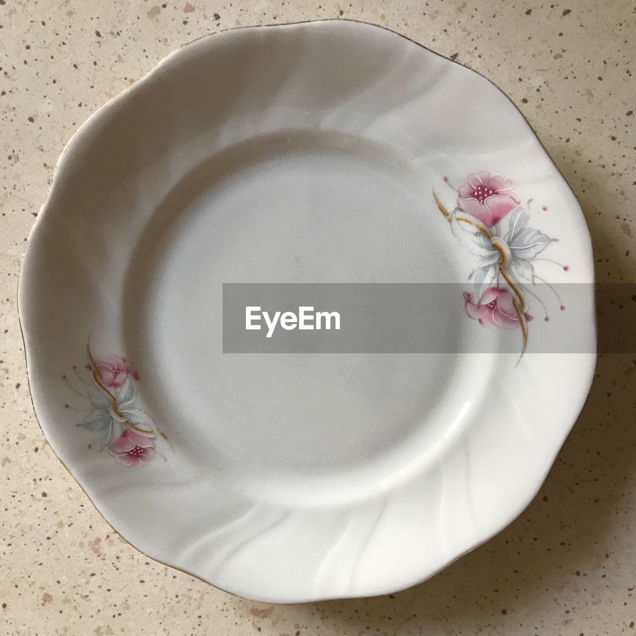food and drink, plate, high angle view, indoors, freshness, food, wellbeing, directly above, close-up, white color, still life, flower, healthy eating, no people, drink, refreshment, table, flowering plant, beauty in nature, crockery, floral pattern