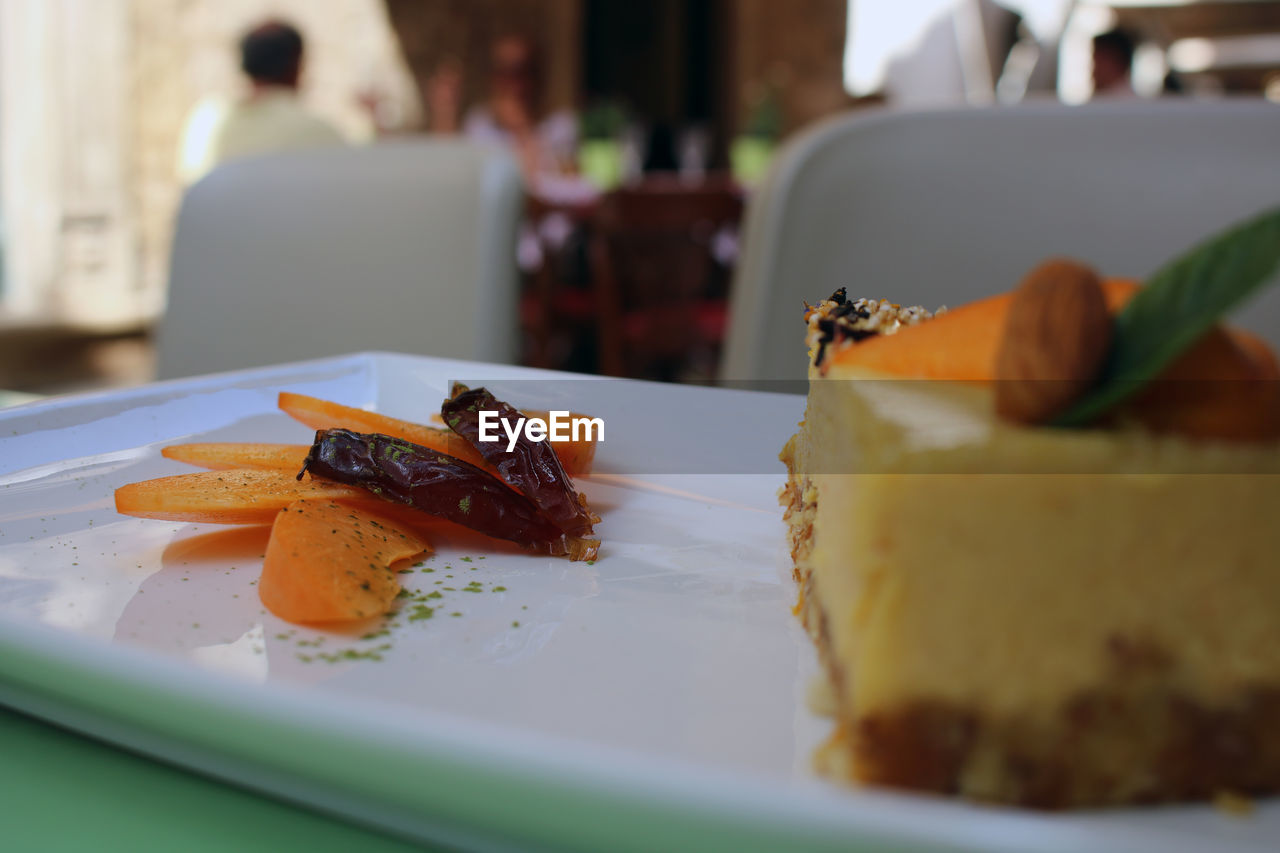 food and drink, food, freshness, plate, ready-to-eat, selective focus, indoors, serving size, close-up, still life, indulgence, table, incidental people, focus on foreground, temptation, sweet food, healthy eating, dessert, sweet, garnish, food styling, snack, luxury