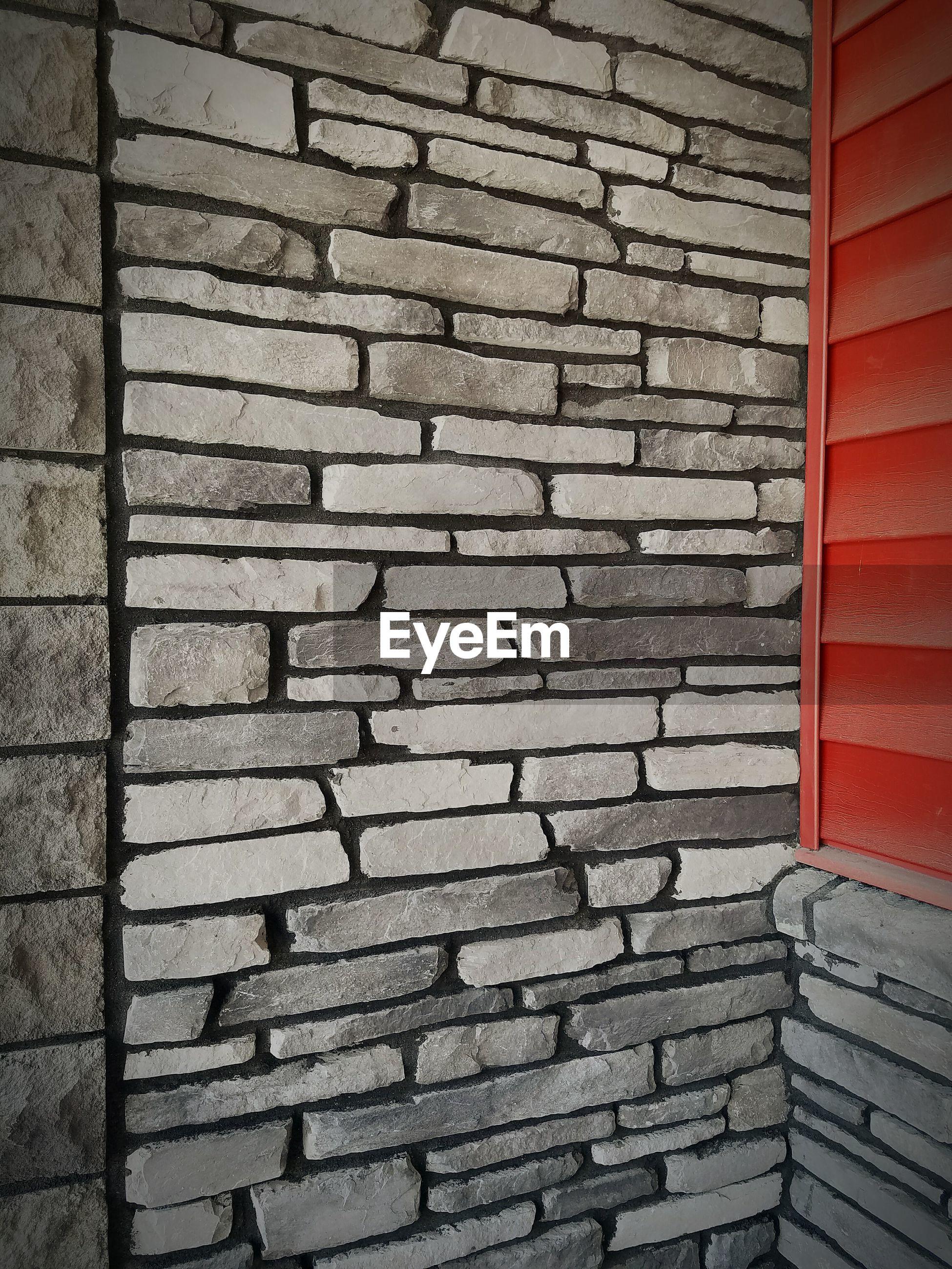 Shot of brick wall