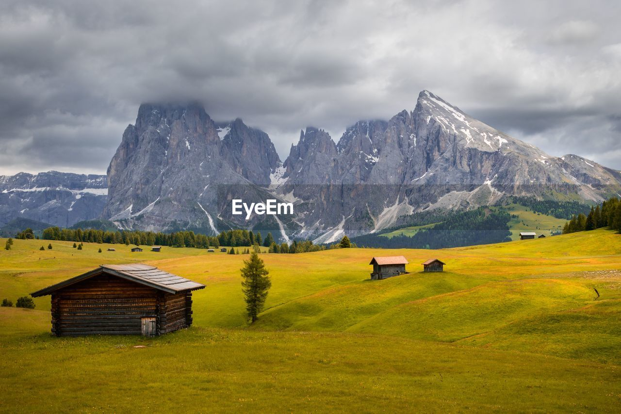 This place called seiser alm and is absolutely beautiful