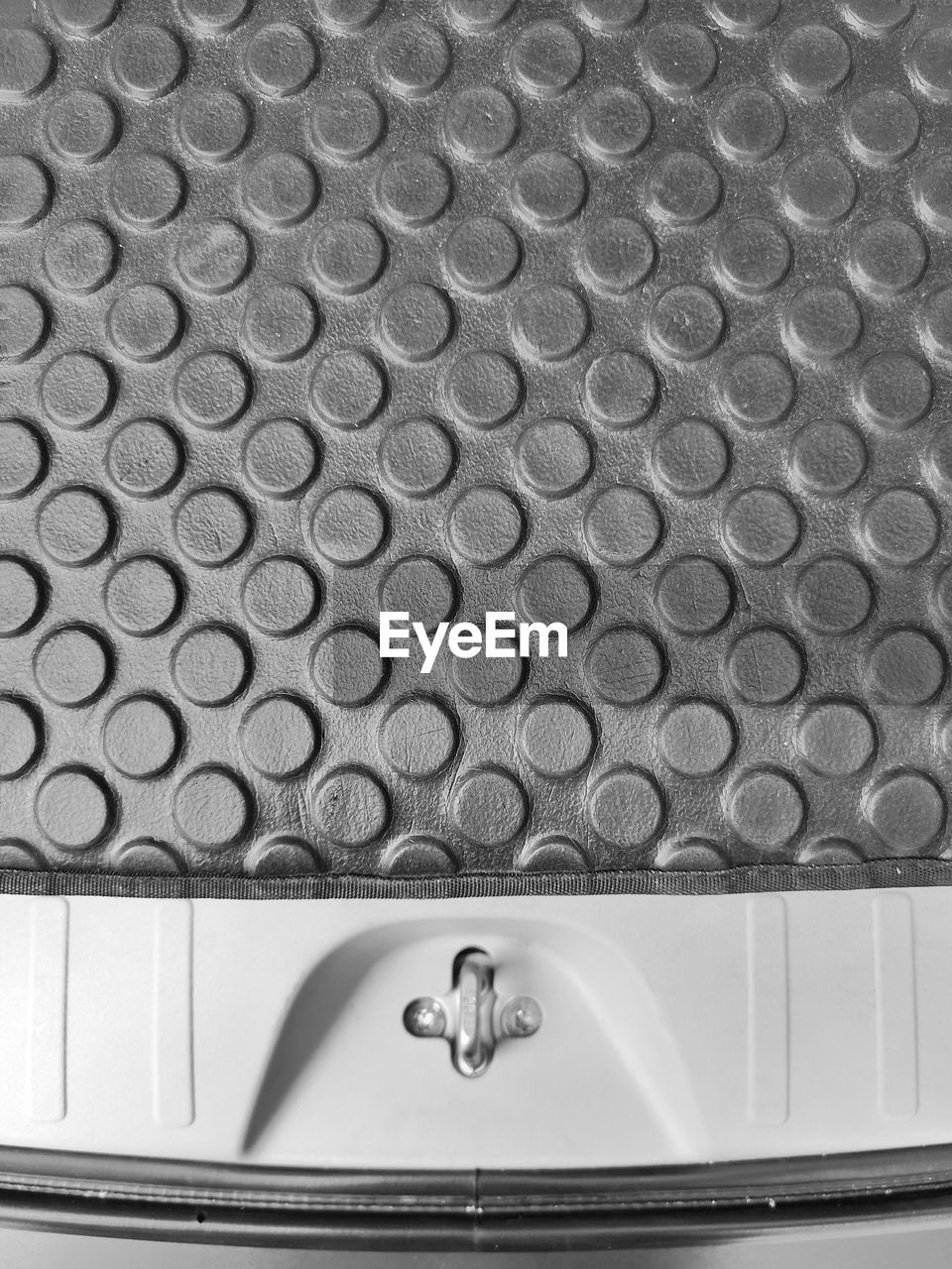 indoors, no people, close-up, metal, pattern, bathroom, geometric shape, shape, circle, household equipment, silver colored, high angle view, reflection, steel, domestic room, sink, mirror, domestic bathroom, hygiene, repetition, luxury, clean