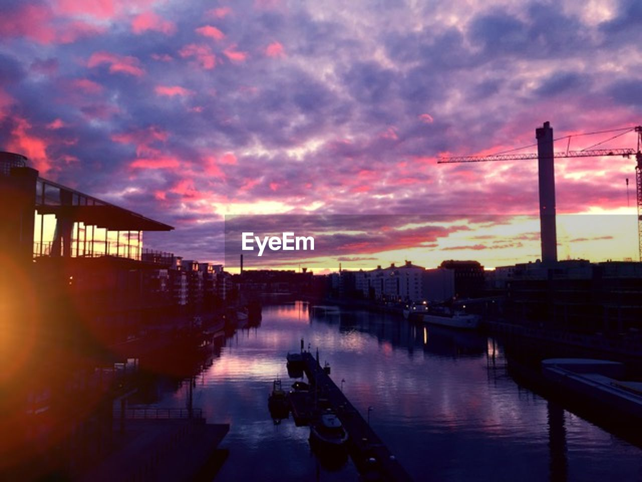 built structure, architecture, sunset, sky, cloud - sky, building exterior, water, no people, reflection, transportation, nautical vessel, outdoors, travel destinations, nature, scenics, city, beauty in nature, day