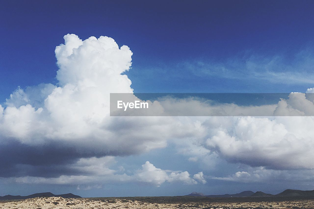 sky, cloud - sky, nature, beauty in nature, scenics, outdoors, tranquility, tranquil scene, day, no people, landscape, blue