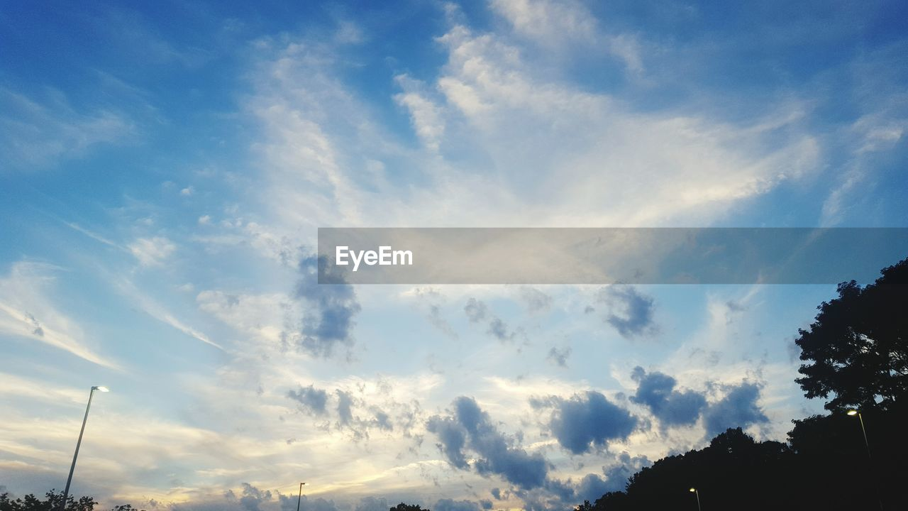 sky, cloud - sky, low angle view, beauty in nature, nature, no people, scenics, outdoors, tranquility, day, tree
