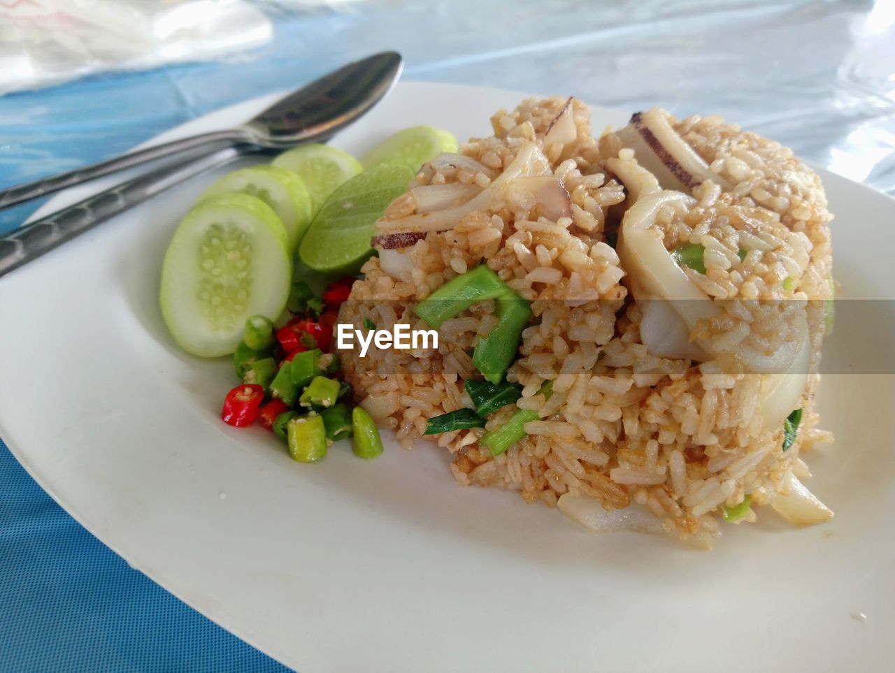 plate, food, food and drink, ready-to-eat, freshness, healthy eating, serving size, eating utensil, kitchen utensil, vegetable, still life, indoors, close-up, wellbeing, table, rice - food staple, meal, no people, indulgence, spoon, crockery, garnish, dinner, temptation