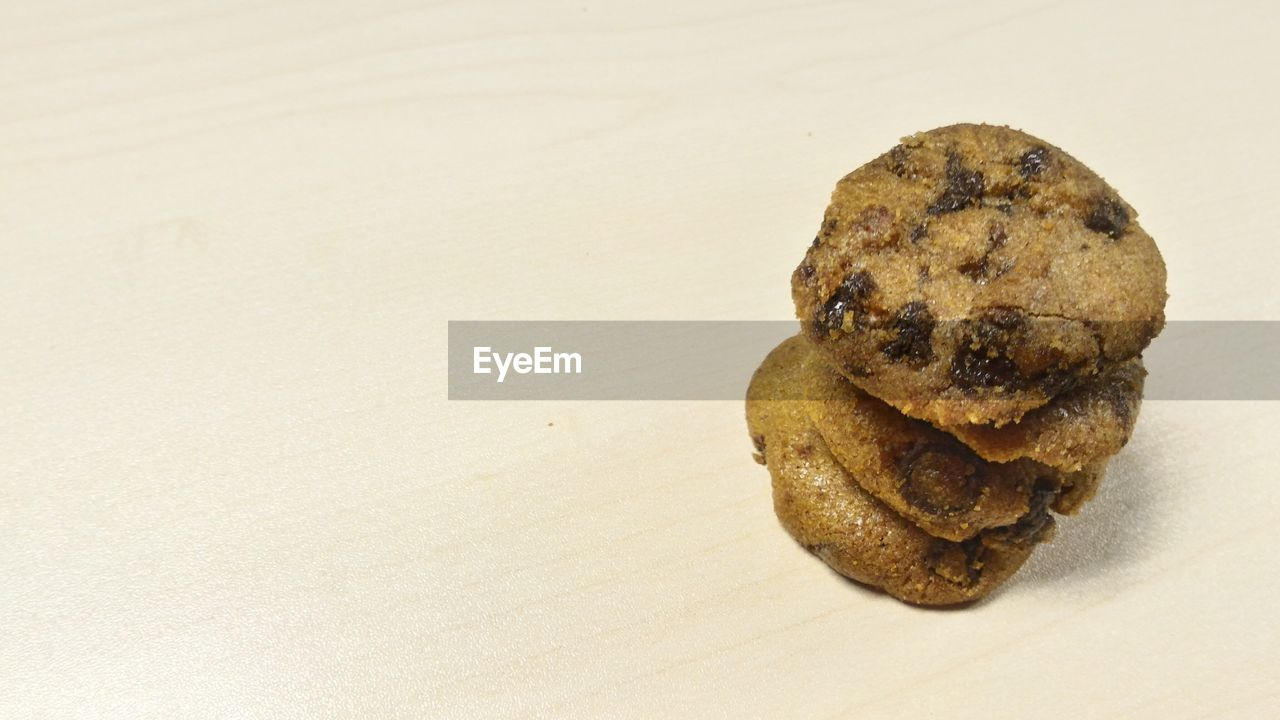 food and drink, food, cookie, baked, chocolate chip cookie, no people, sweet food, close-up, freshness, ready-to-eat, white background, indoors, day