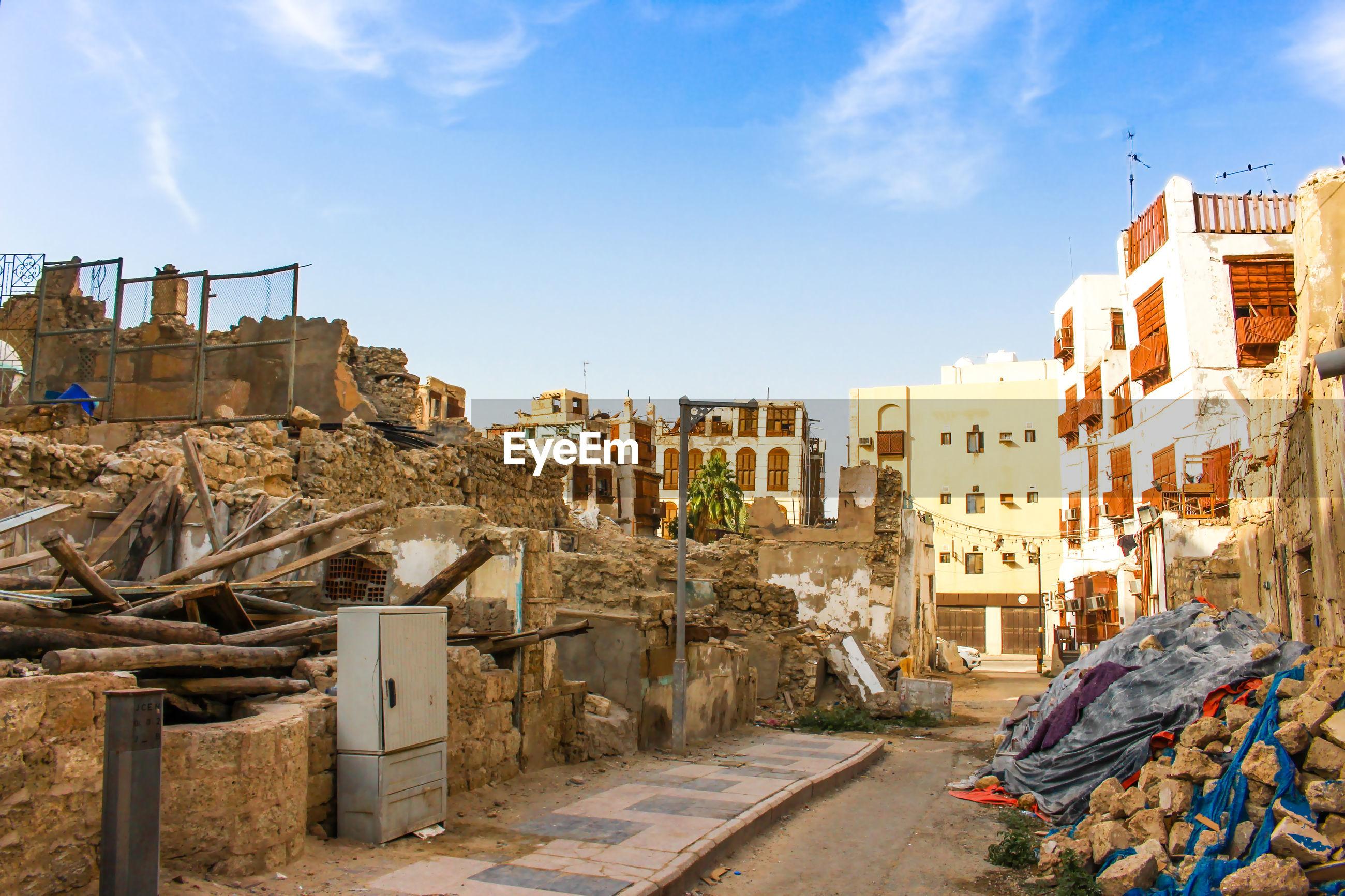 Unesco world heritage hstorical site in jeddah saudi arabia