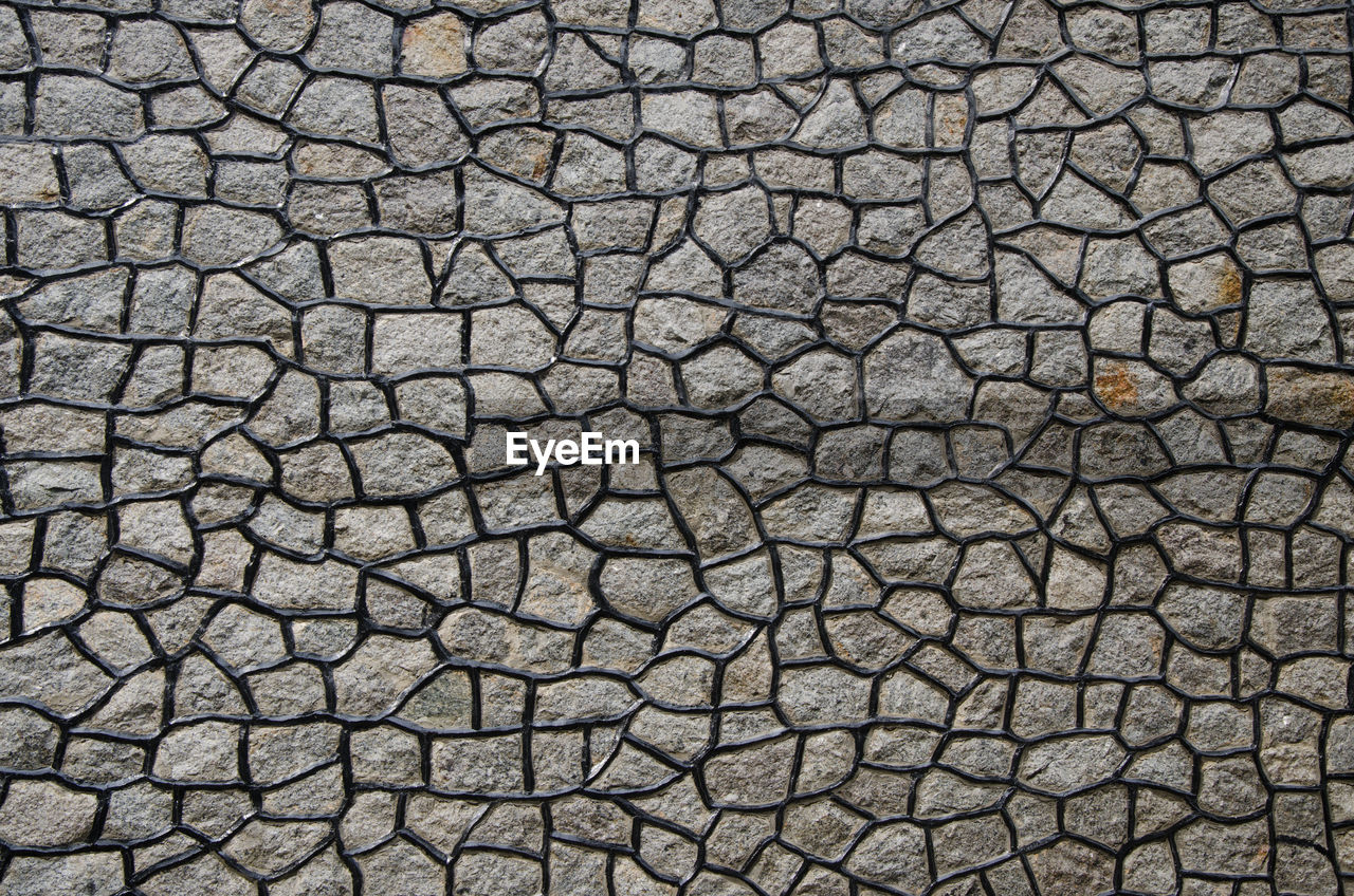 backgrounds, pattern, full frame, no people, textured, close-up, cobblestone, nature, outdoors, day, animal themes, abstract, animal, natural pattern, dry, high angle view, animal wildlife, animal body part, footpath, gray, arid climate