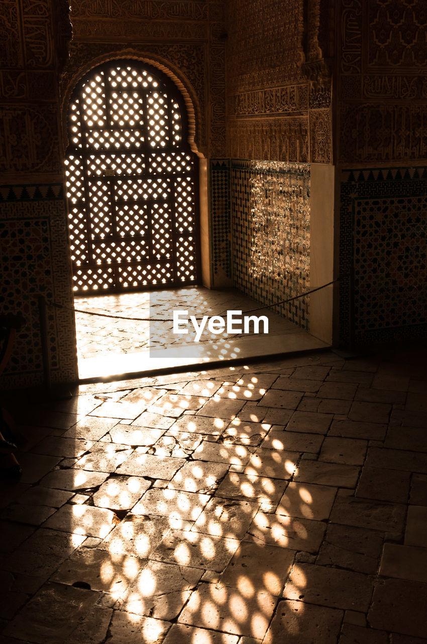 Sunlight Through A Window