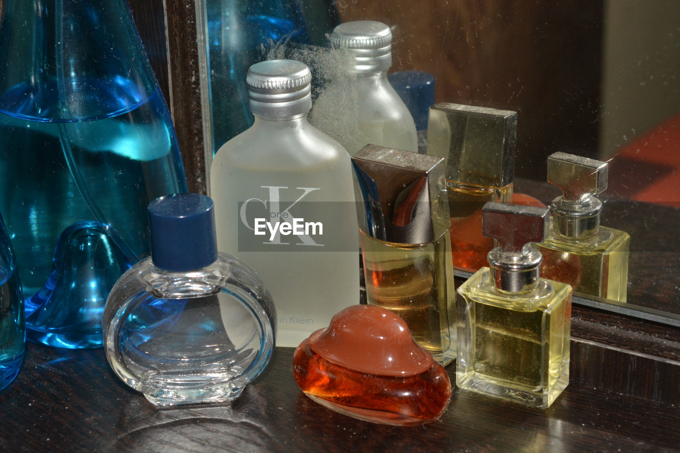 indoors, still life, glass - material, text, variation, large group of objects, freshness, no people, collection