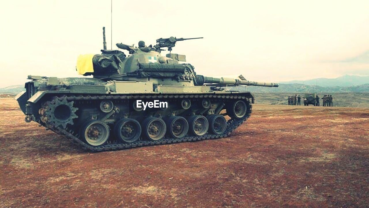 military, weapon, army, war, armored tank, outdoors, day, no people, camouflage clothing