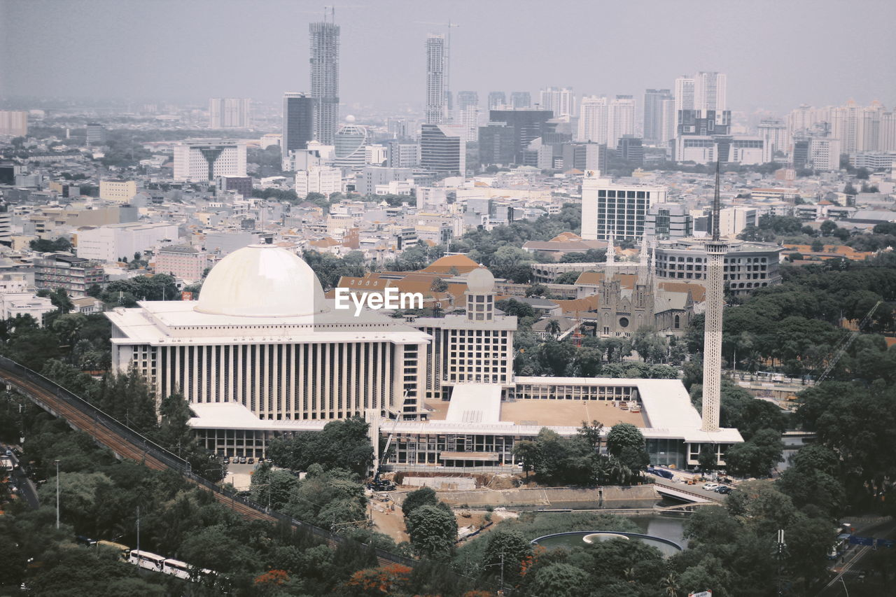 The largest mosque in southeast asia