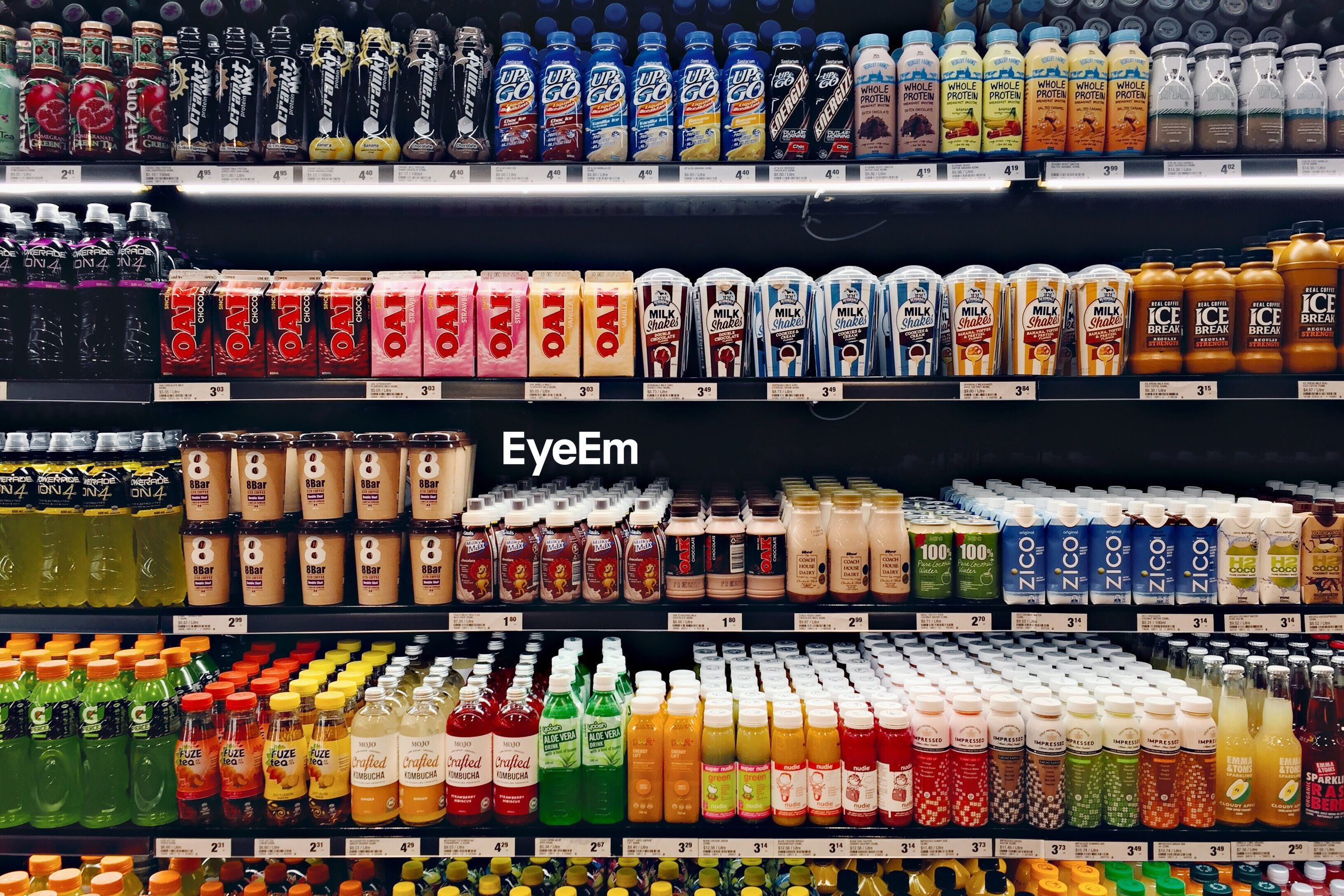 variation, large group of objects, abundance, in a row, shelf, store, choice, no people, retail, arrangement, multi colored, indoors, supermarket, day