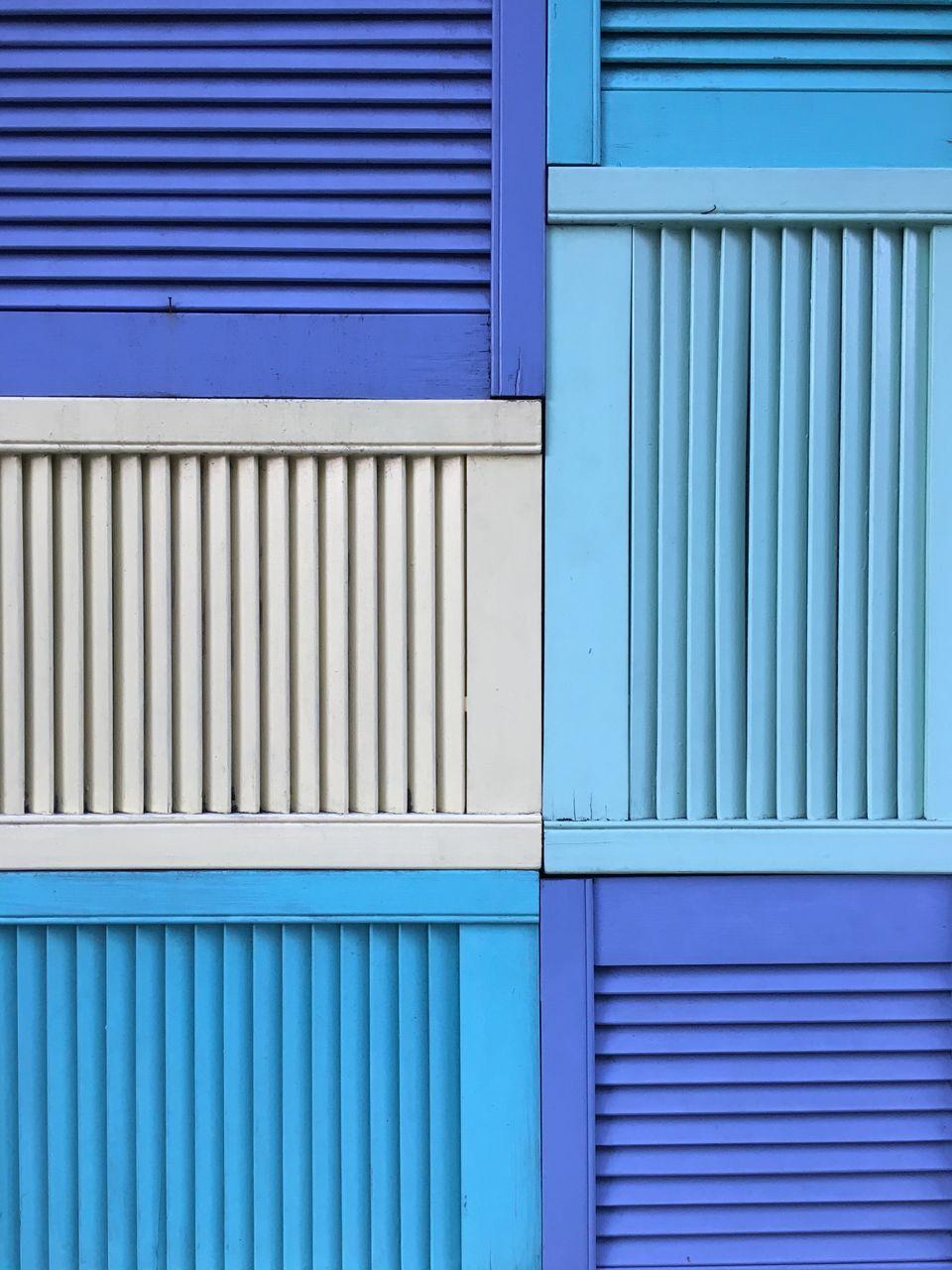 Full Frame Shot Of Shutter Windows