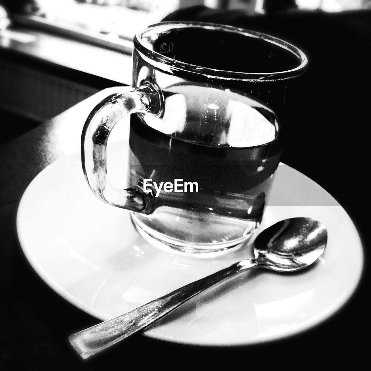 Glass of fresh mint tea