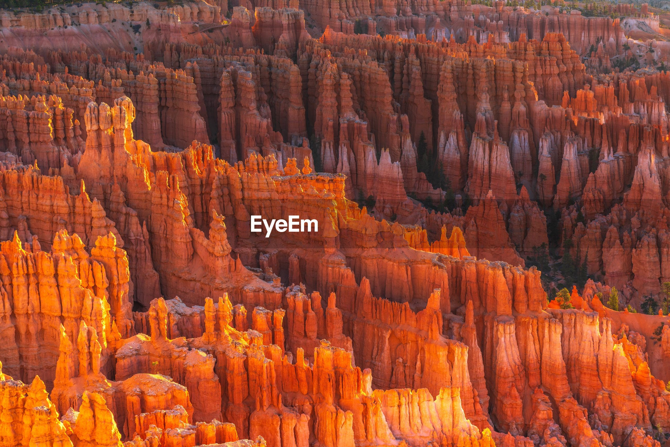 Full frame shot of bryce canyon national park