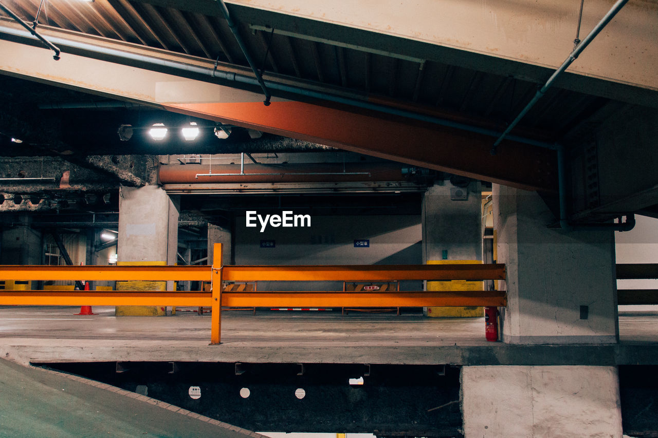 View Of Multilevel Parking