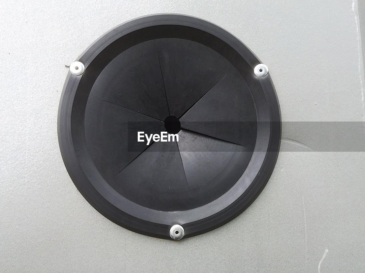 Close-Up Of Speaker