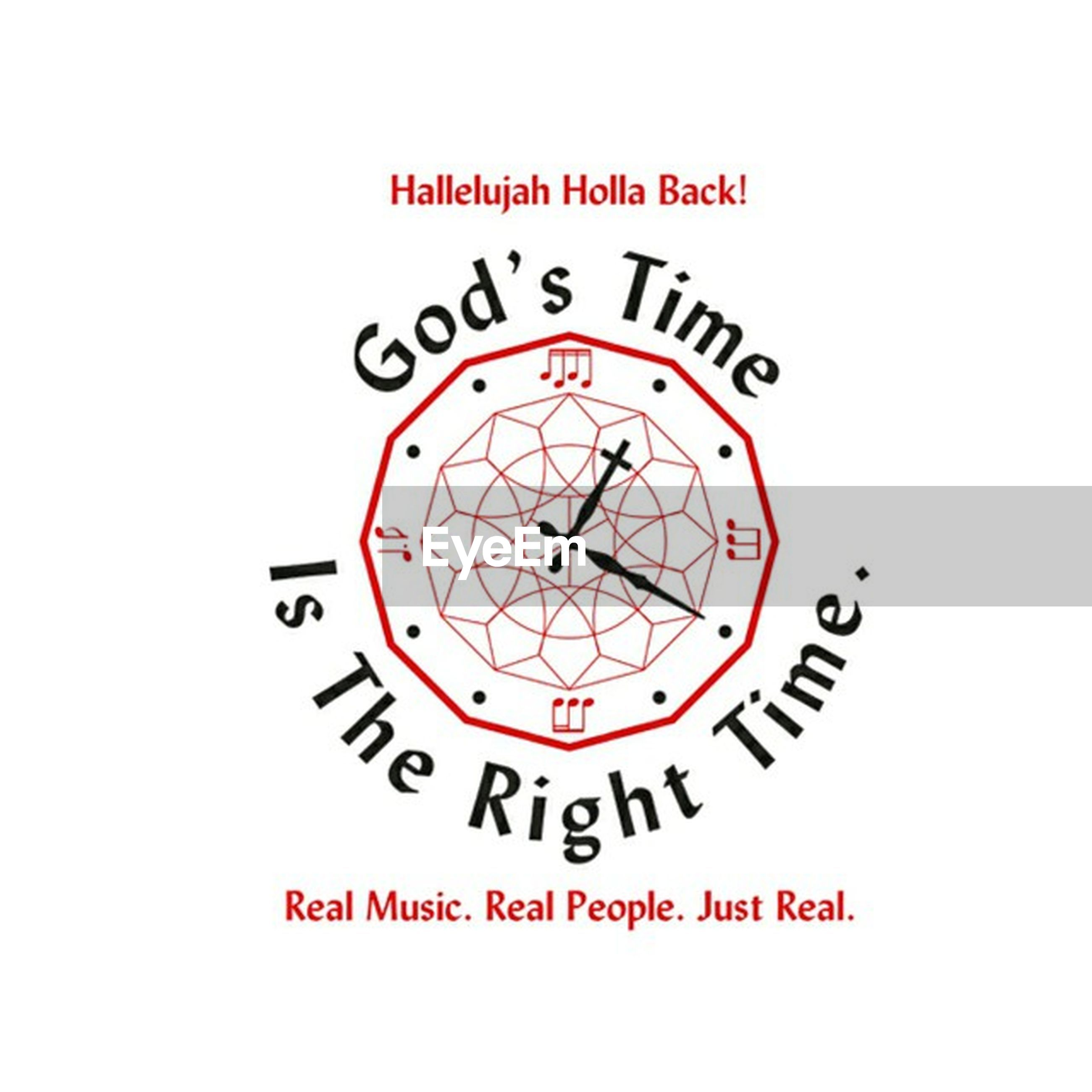 text, communication, time, western script, clock, number, circle, wall clock, clock face, minute hand, capital letter, geometric shape, indoors, accuracy, close-up, sign, roman numeral, non-western script, information sign, low angle view