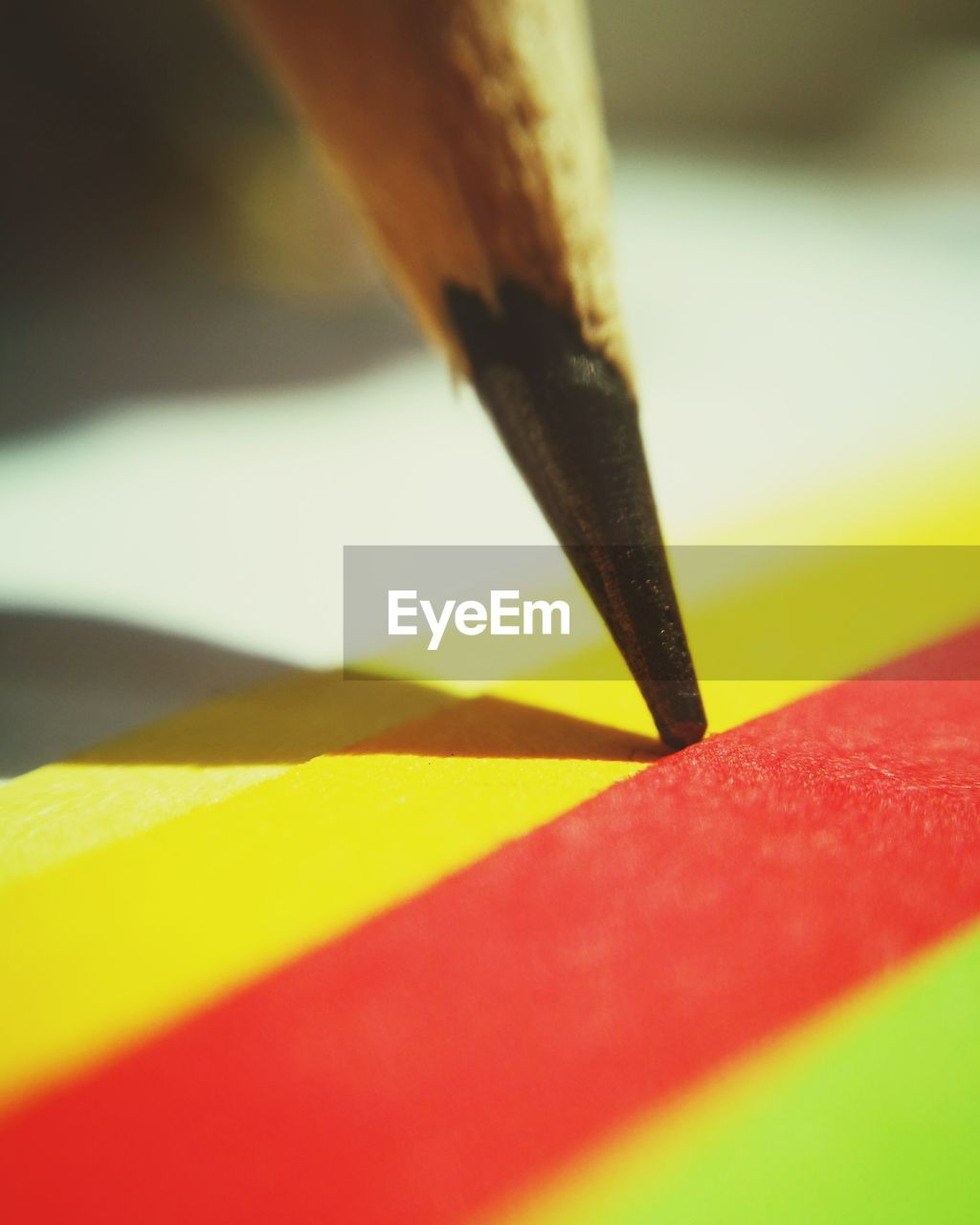 close-up, selective focus, pencil, indoors, no people, art and craft, writing instrument, yellow, still life, sharp, multi colored, macro, man made object, craft, creativity, paper, man made, wood - material, pen, nib