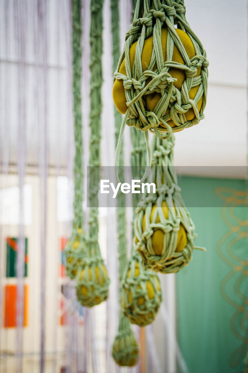 View Of Crochet Hanging From Ceiling