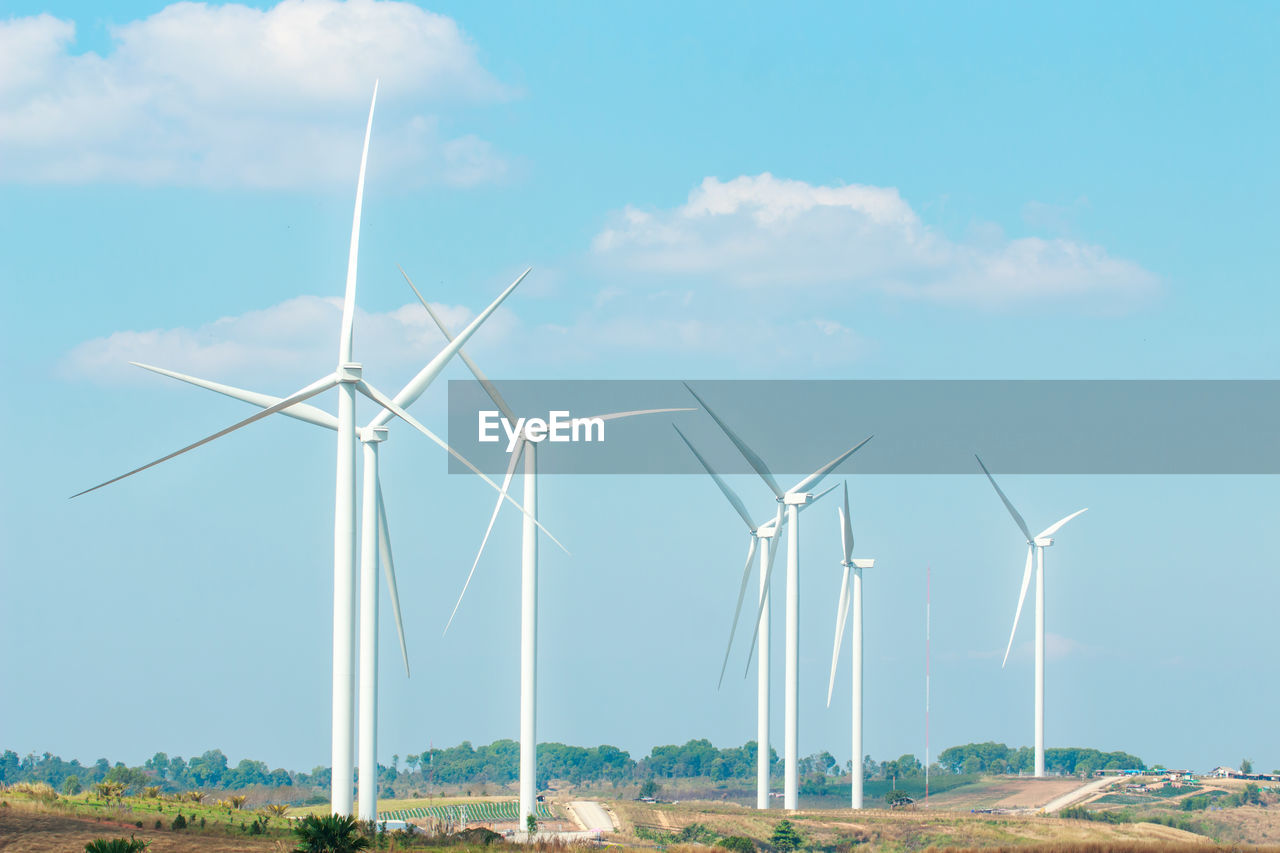 turbine, renewable energy, environmental conservation, wind turbine, alternative energy, fuel and power generation, environment, wind power, sky, nature, landscape, day, cloud - sky, field, technology, land, no people, rural scene, plant, outdoors, sustainable resources, power supply