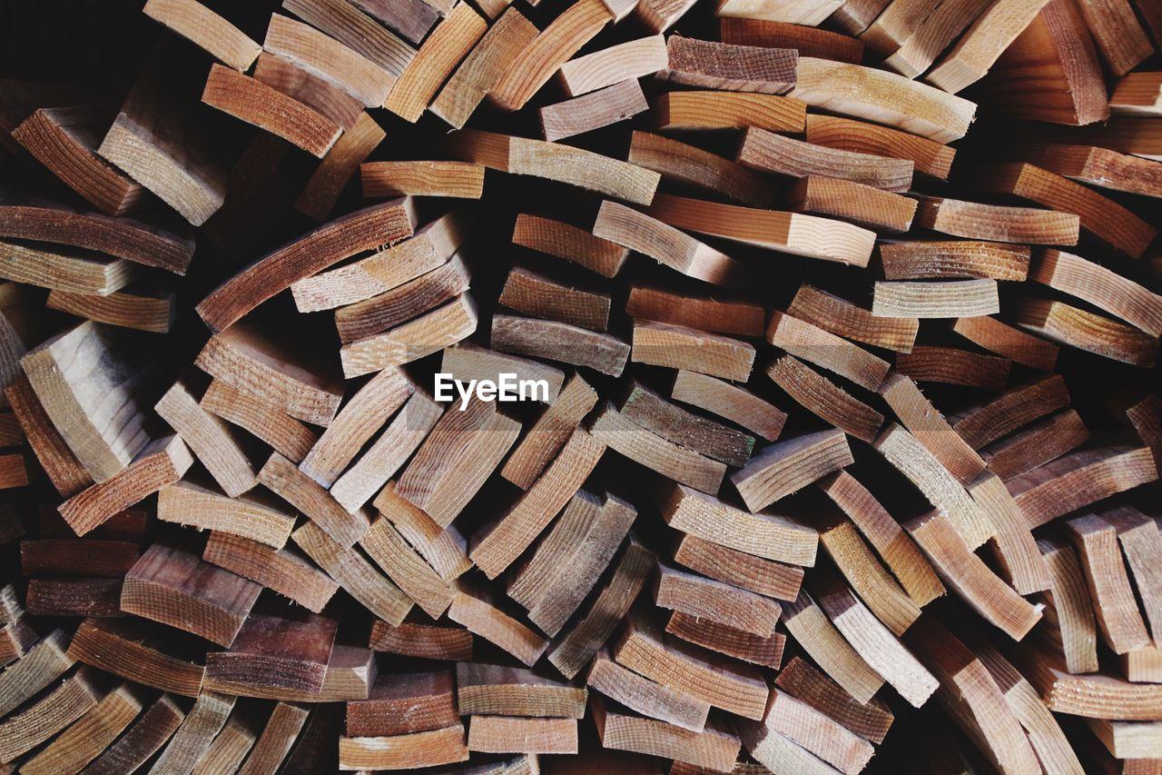 Detail Shot Of Wooden Planks
