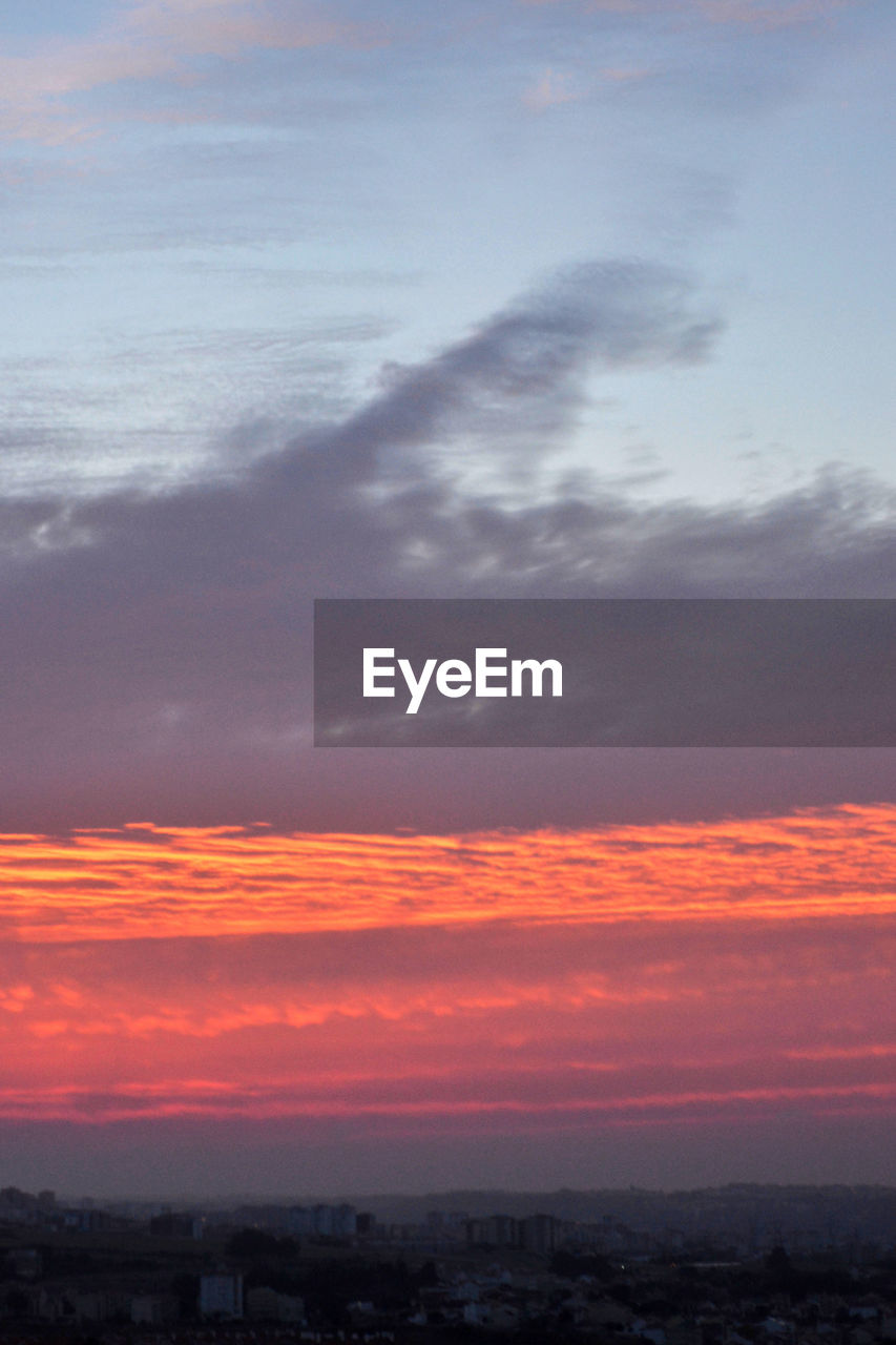 sunset, sky, orange color, tranquil scene, cloud - sky, beauty in nature, scenics, tranquility, nature, no people, outdoors, sea, horizon over water, day