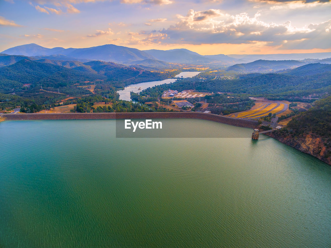 Scenic View Of Lake Eildon