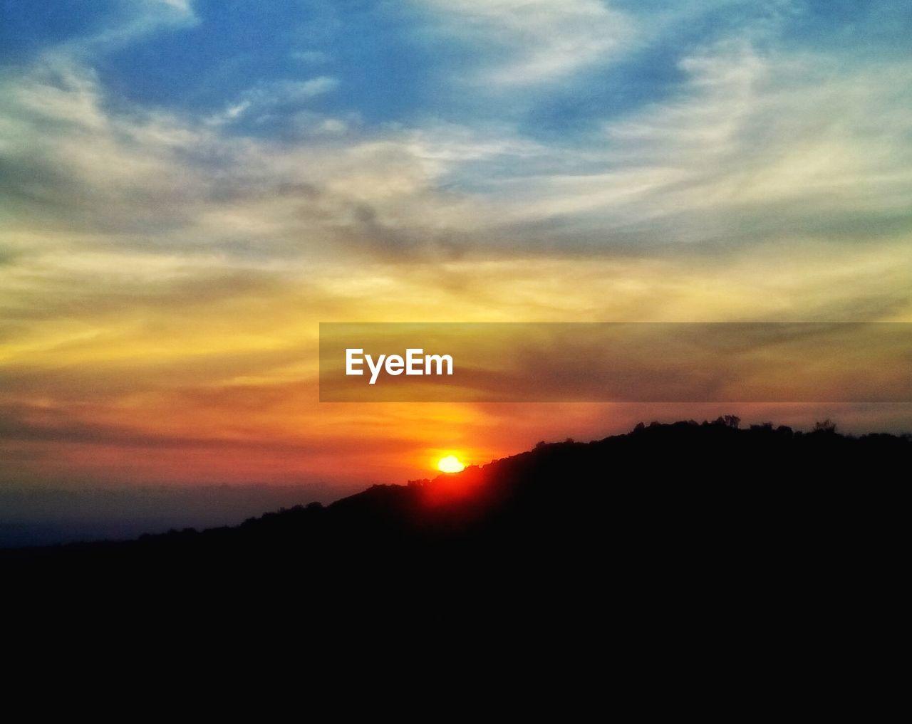 sunset, silhouette, nature, sun, sky, beauty in nature, tranquil scene, scenics, landscape, no people, adventure, outdoors