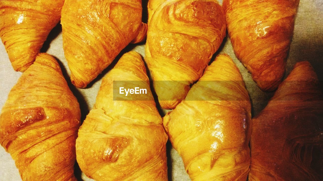 Close-Up Of Croissant In Plate