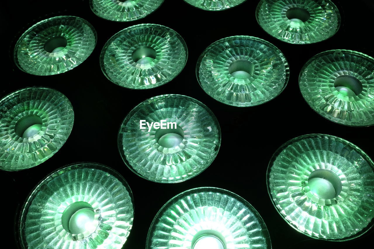 circle, no people, full frame, backgrounds, pattern, electricity, indoors, close-up, day