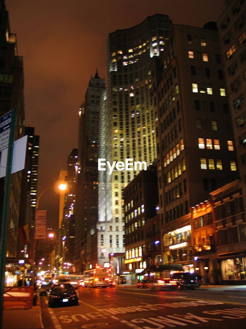 city, illuminated, architecture, night, building exterior, skyscraper, street, modern, built structure, cityscape, tall, road, no people, outdoors, sky