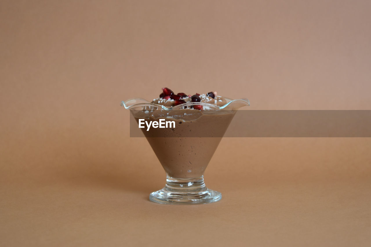 food and drink, food, freshness, still life, indoors, close-up, indulgence, no people, table, studio shot, temptation, fruit, glass, sweet food, healthy eating, ready-to-eat, copy space, dessert, sweet, berry fruit