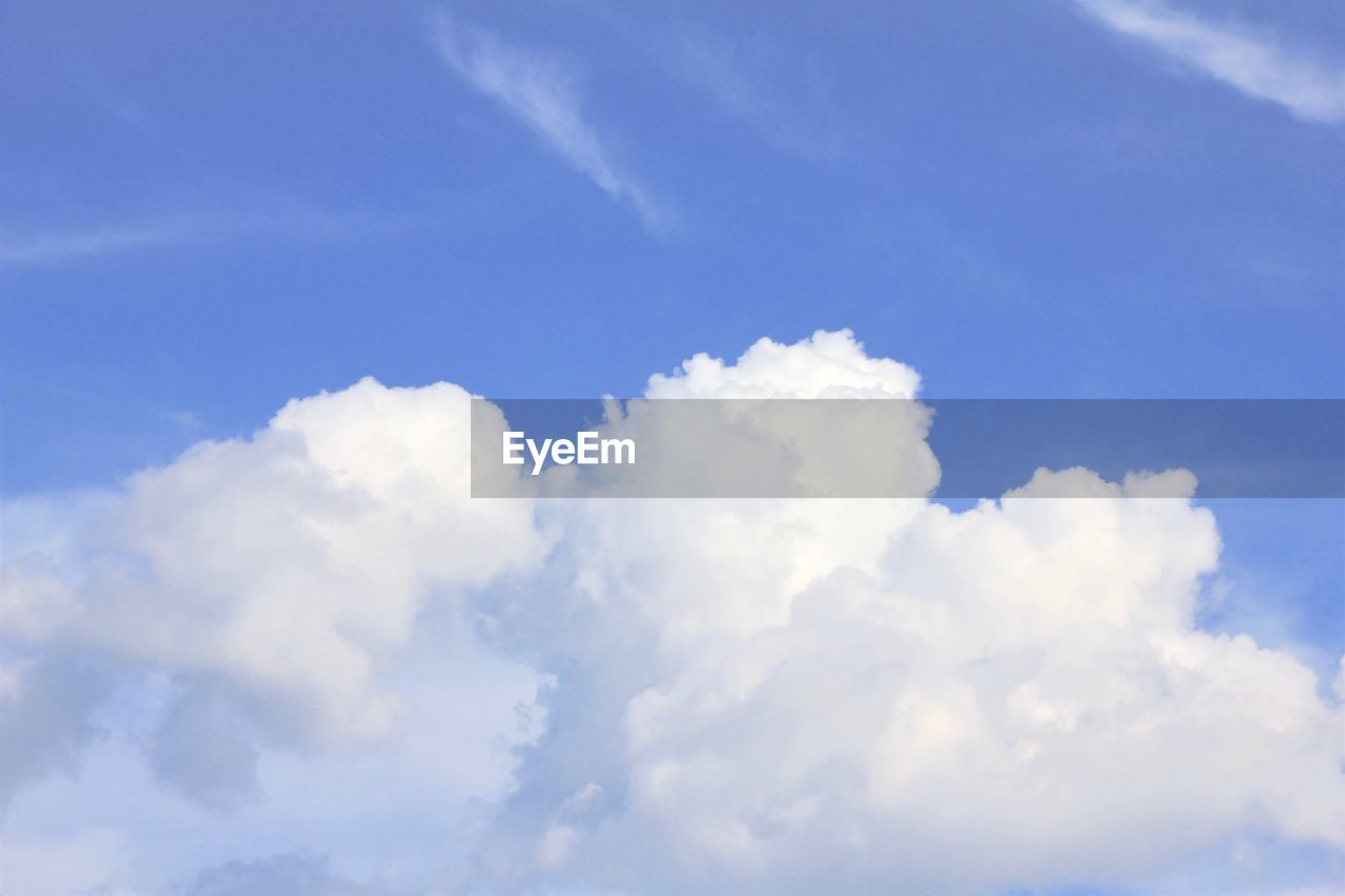 cloud - sky, sky, beauty in nature, tranquility, low angle view, scenics - nature, backgrounds, tranquil scene, no people, nature, blue, day, idyllic, white color, outdoors, full frame, non-urban scene, sunlight, heaven, meteorology