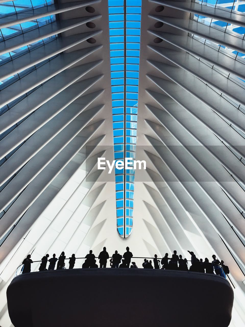 indoors, large group of people, real people, day, architecture, men, close-up