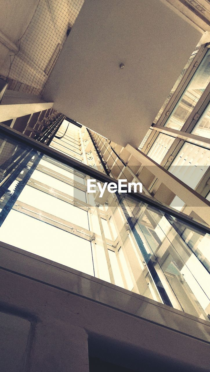 Low Angle View Of Elevator