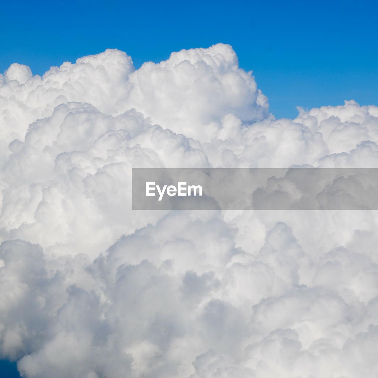 Full Frame Of Clouds Against Blue Sky