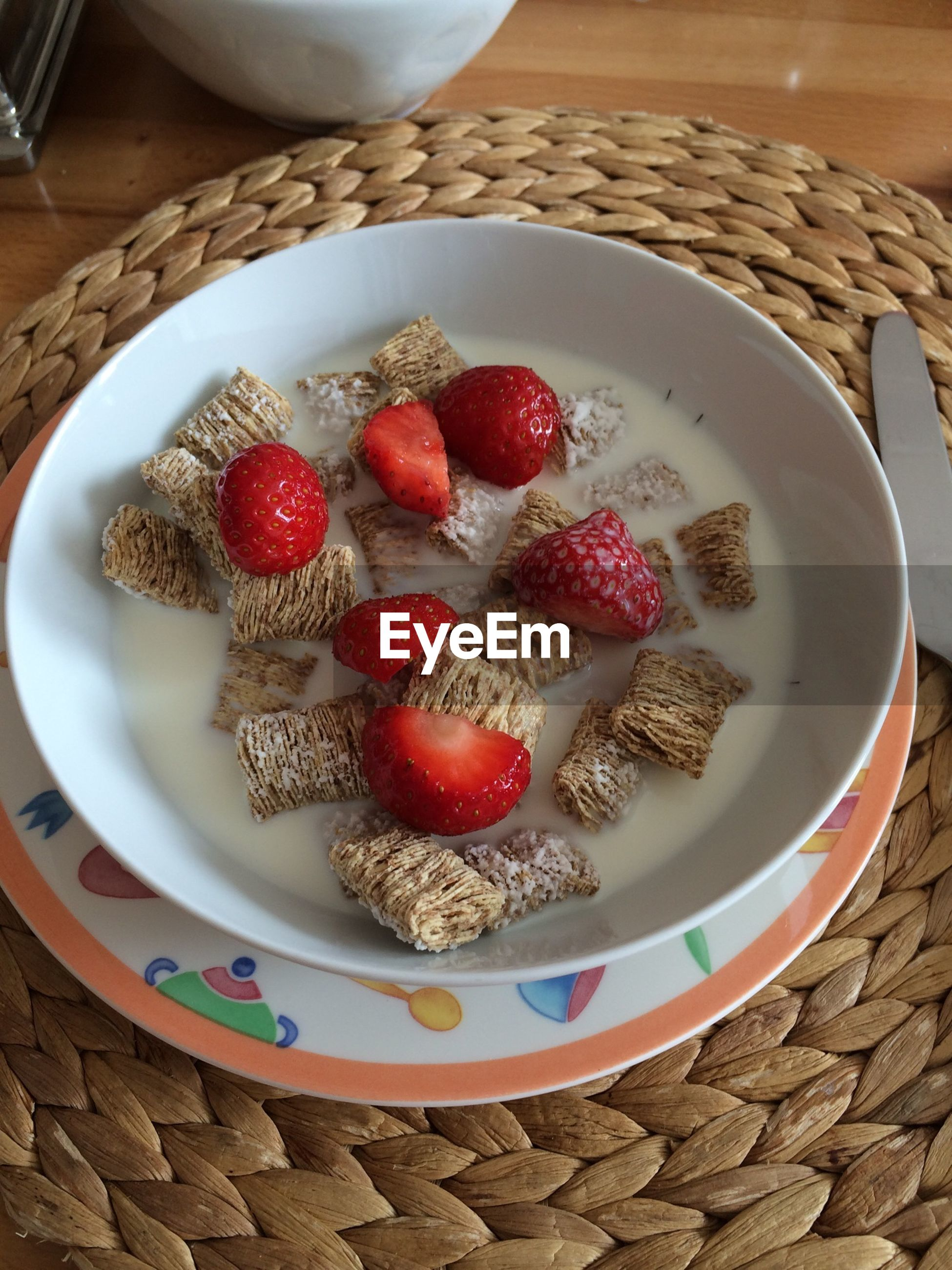 food and drink, food, red, freshness, sweet food, indoors, fruit, strawberry, still life, table, dessert, high angle view, indulgence, raspberry, bowl, ready-to-eat, plate, healthy eating, cake, close-up