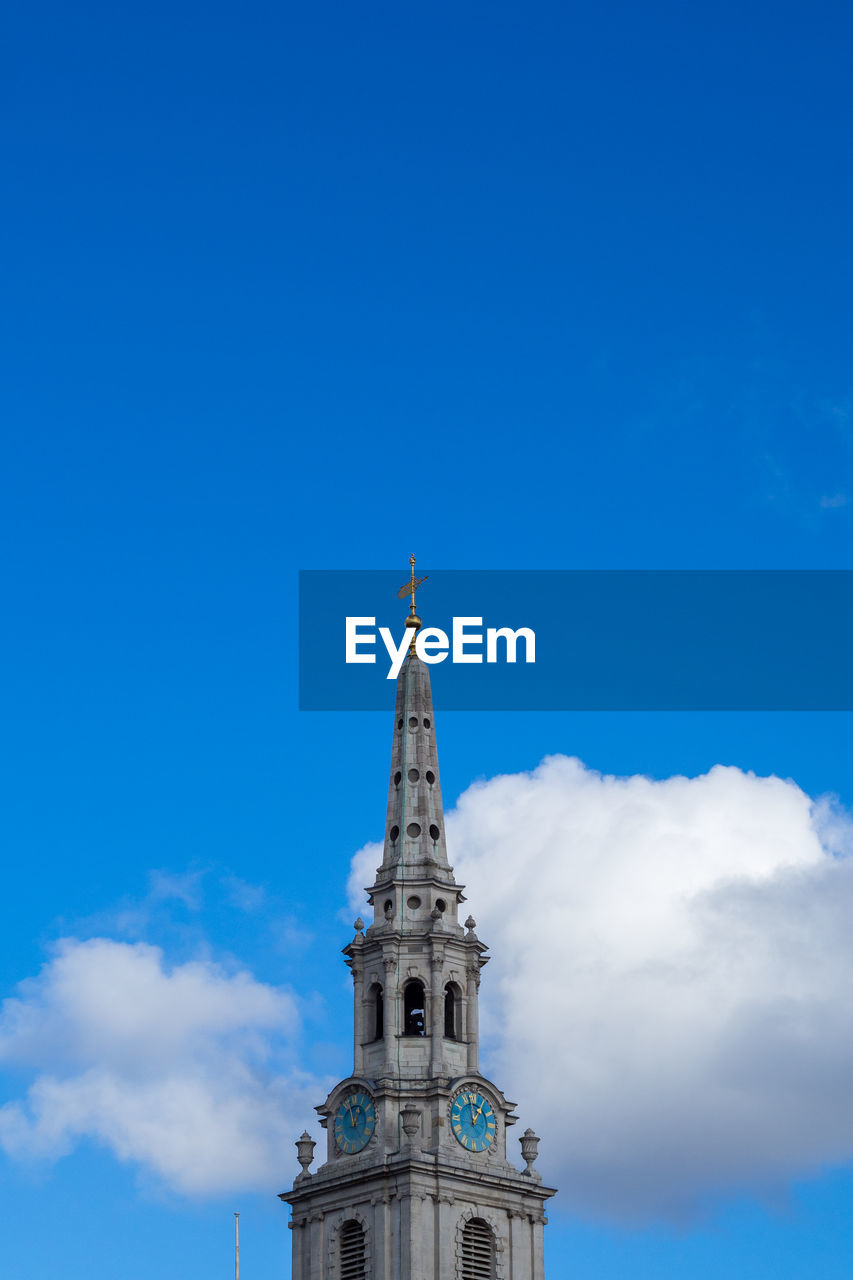 Clock tower of st martin-in-the-fields against sky