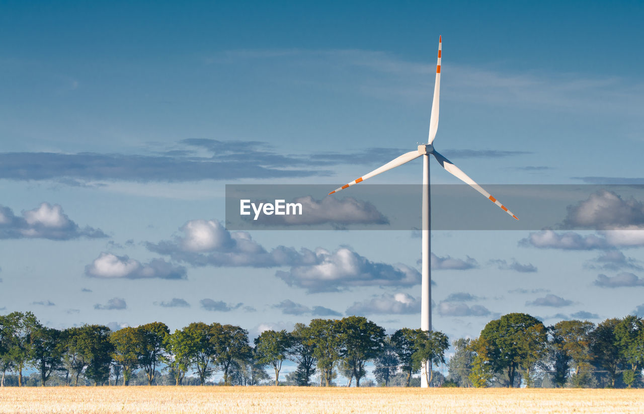 environment, wind turbine, alternative energy, turbine, environmental conservation, renewable energy, sky, wind power, fuel and power generation, landscape, tree, cloud - sky, field, plant, nature, land, rural scene, no people, beauty in nature, scenics - nature, outdoors, sustainable resources