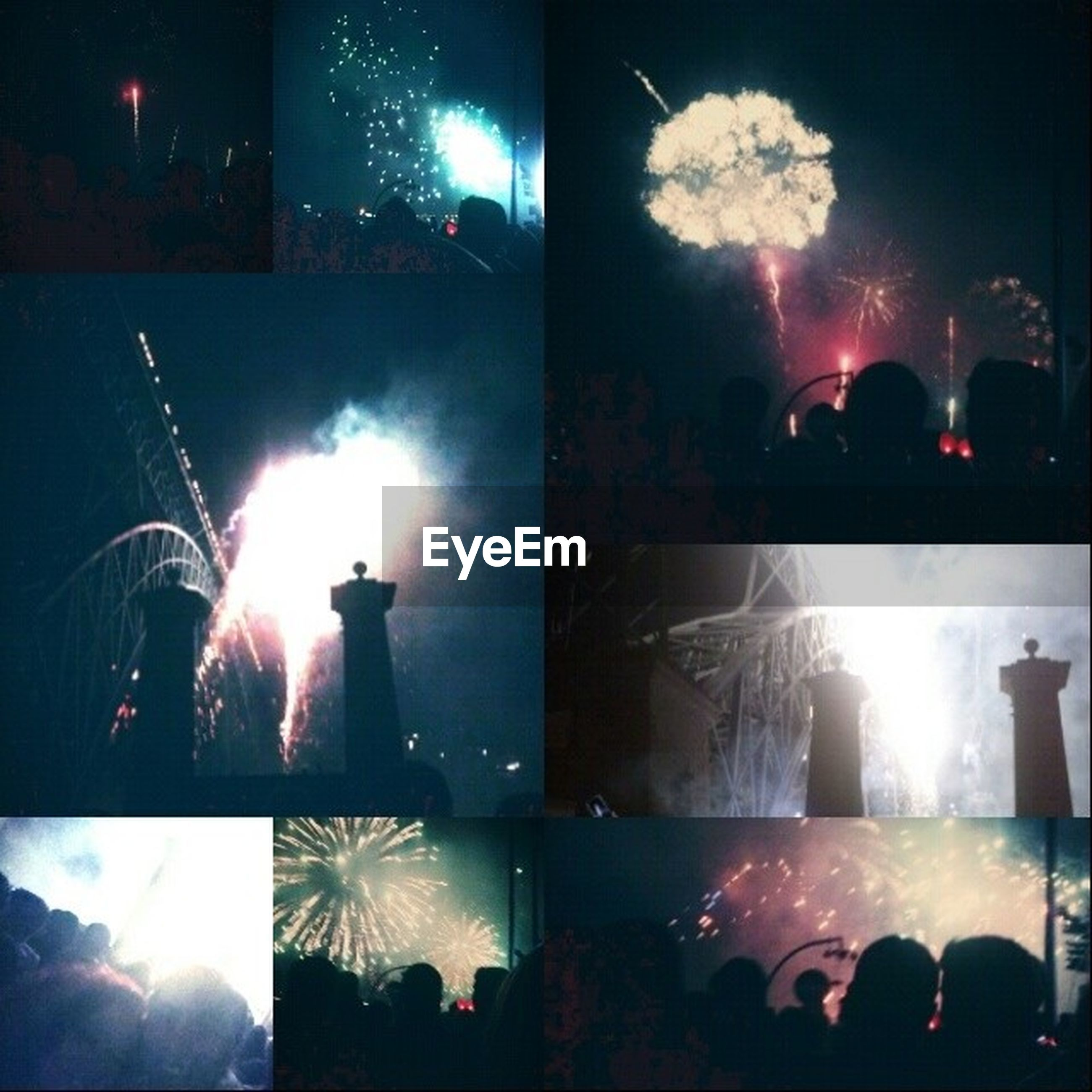 illuminated, night, lighting equipment, celebration, glowing, arts culture and entertainment, light - natural phenomenon, event, firework display, indoors, exploding, built structure, dark, light, street light, smoke - physical structure, nightlife, men, sparks