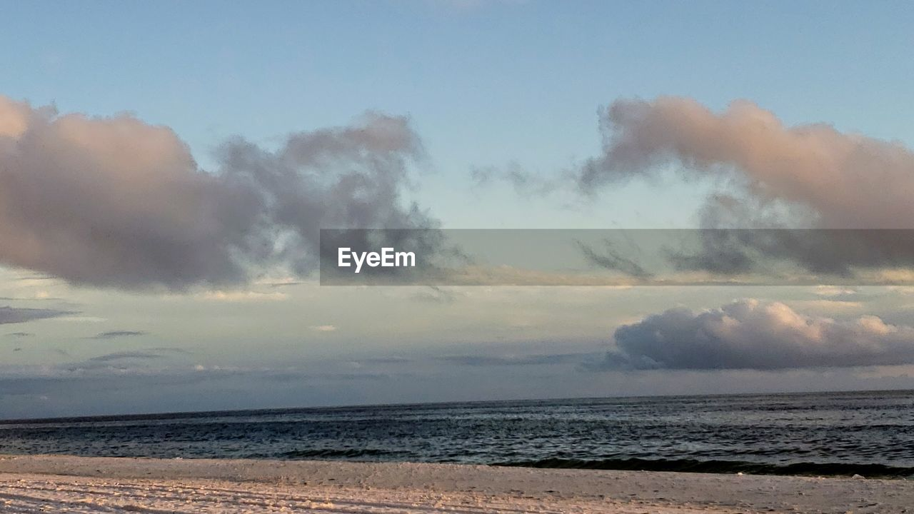 sky, sea, cloud - sky, beauty in nature, water, scenics - nature, beach, land, tranquility, tranquil scene, horizon, horizon over water, nature, non-urban scene, no people, outdoors, idyllic, sand, day