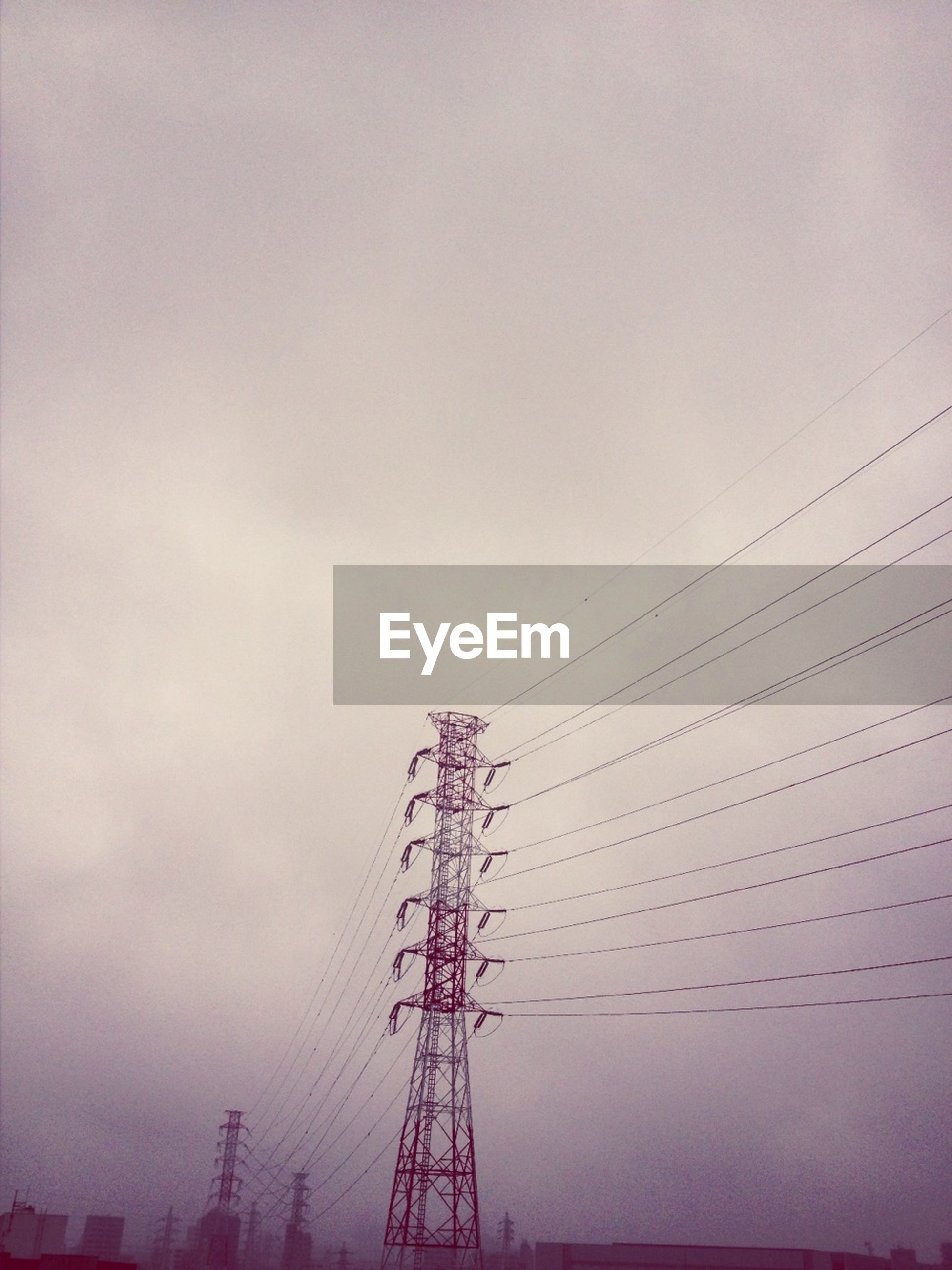 power line, electricity pylon, power supply, electricity, connection, low angle view, cable, silhouette, fuel and power generation, technology, sky, sunset, power cable, dusk, outdoors, nature, clear sky, no people, electricity tower, built structure