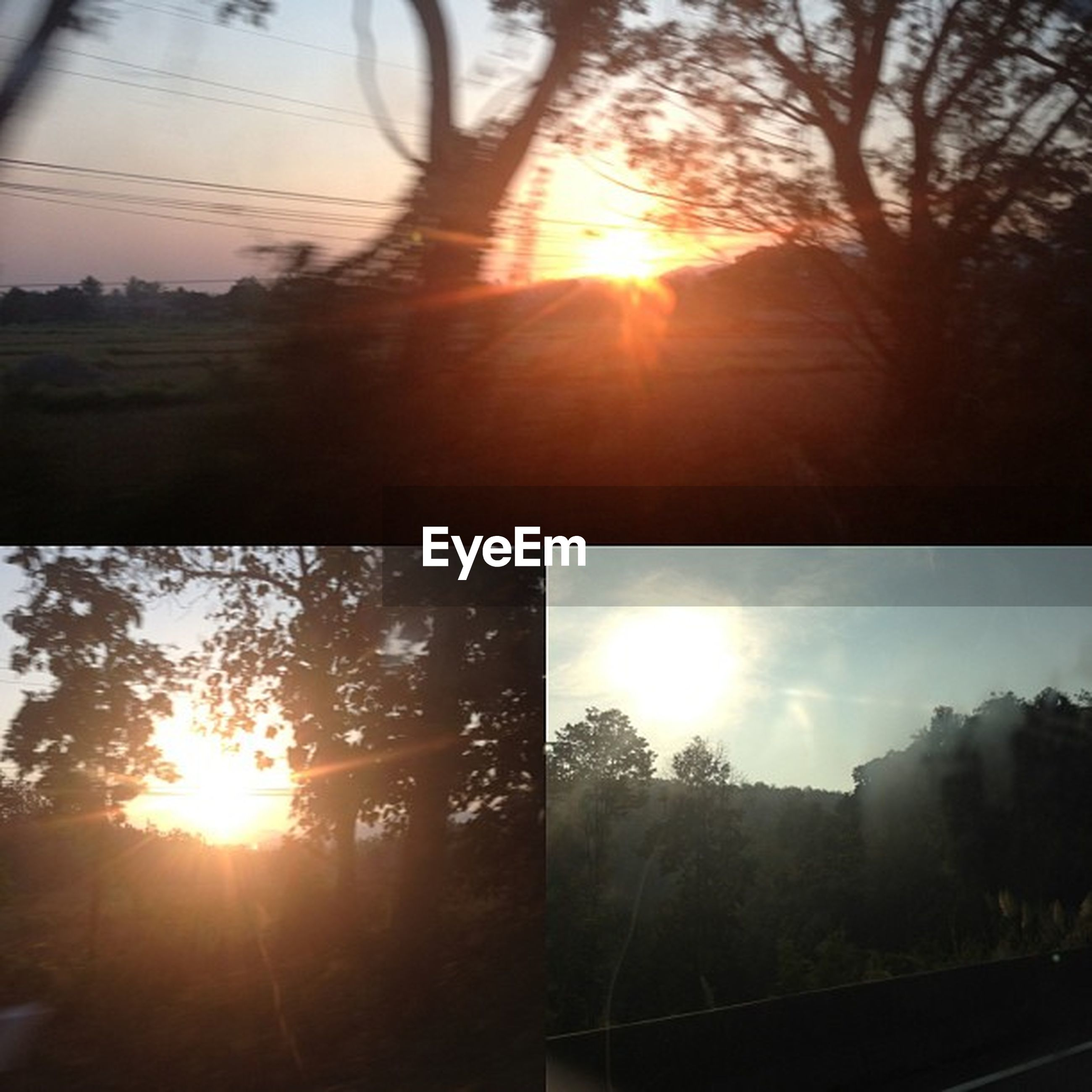 sun, sunset, sunbeam, sunlight, lens flare, sky, built structure, silhouette, building exterior, architecture, tree, bright, back lit, orange color, cloud - sky, nature, reflection, no people, sunny, city