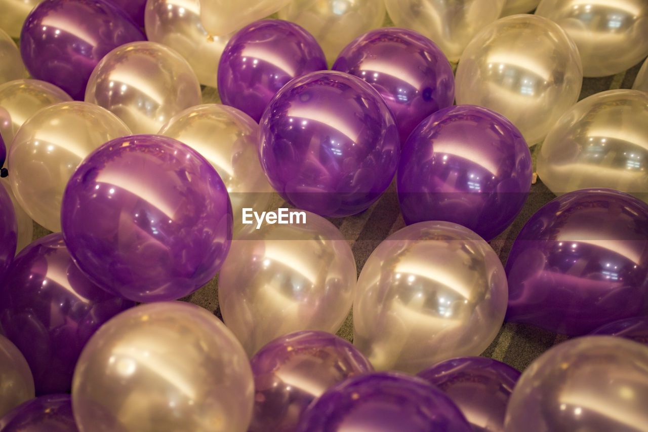 Close-Up Of Balloons