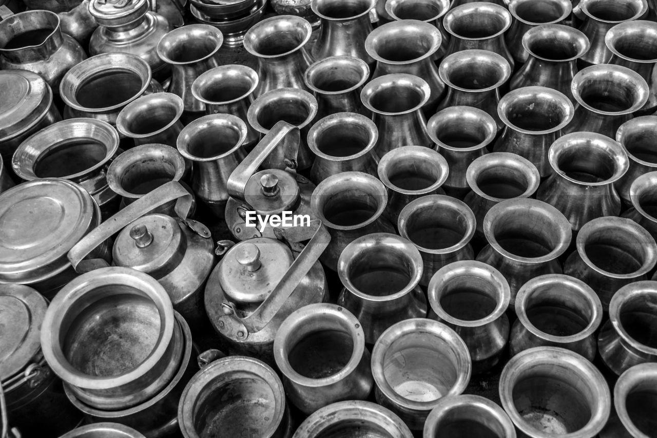 Full frame shot of utensils for sale