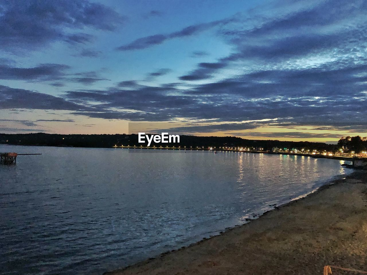 water, sky, cloud - sky, beauty in nature, scenics - nature, tranquility, tranquil scene, sunset, nature, reflection, no people, beach, sea, land, outdoors, idyllic, dusk, non-urban scene