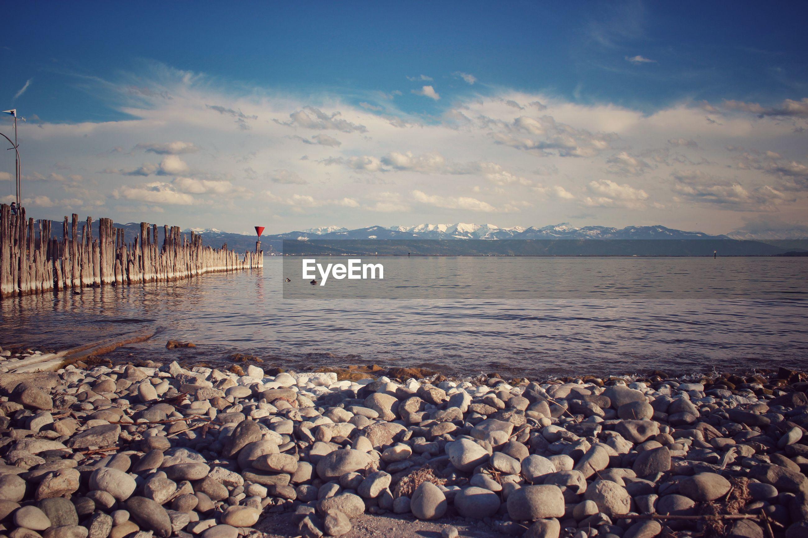 VIEW OF PEBBLE BEACH